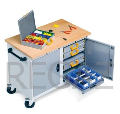 Pojízdný stůl Flexa