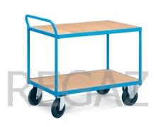 Manipulačný vozík s drevenou základňou