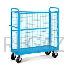 Manipulačný vozík s kovovou základňou