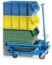 Vozík pre zdvíhanie a transport prepraviek veľkosti 5