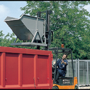 Vyklápěcí kontejner na kolečkách