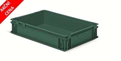 Stohovací euro přepravka série Athena - recyklát - akční cena