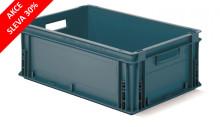 Stohovacia euro prepravka série Athena - recyklát