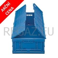 Skladací stohovací box s vekom