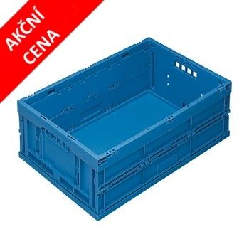 Skládací stohovací box bez víka - akční cena