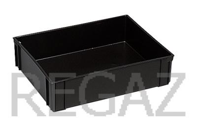 Dělící box pro stohovací boxy série Athena, Thema, s 1 buňkou - recyklát