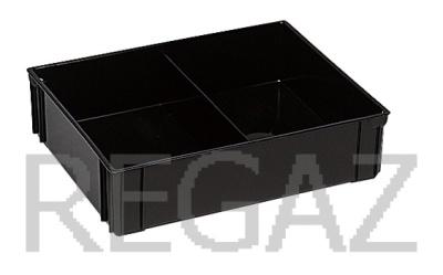 Dělící box pro ESD boxy série Athena, Thema, se 2 buňkami