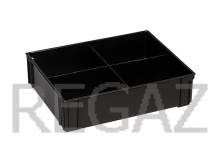 Dělící box pro ESD boxy série Athena, Thema, se 4 buňkami