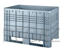 Plastová veľkoobjemová paleta - Bigbox G5 s ližinami
