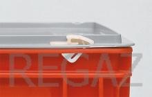 Pár nylonových uzavieracích klipsov pre prepravky Athena, Thema